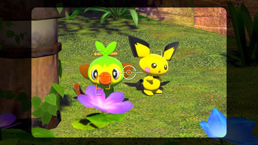 Ouistempo et Pichu - New Pokémon Snap