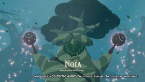 Rencontre avec Noïa - Hyrule Warriors : l'Ère du Fléau