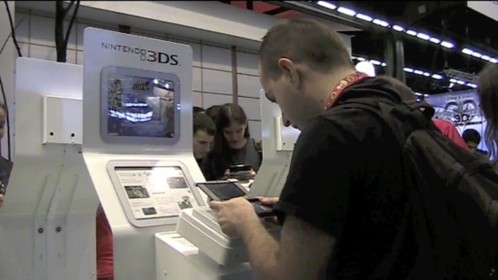 Aquateur teste la 3DS XL à la Japan Expo 2012
