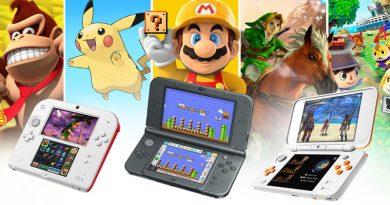 Artwork de la gamme Nintendo 3DS