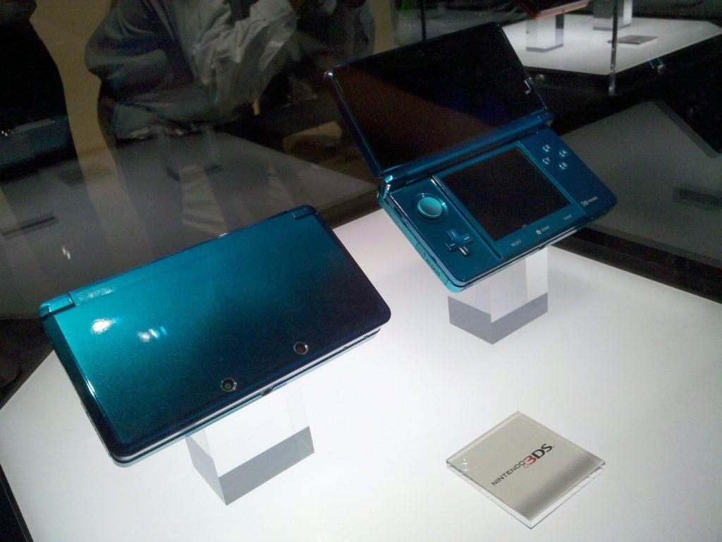 La Nintendo 3DS - Modèle d'exposition de l'E3 2010