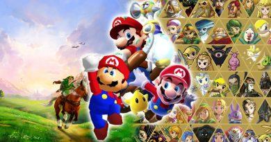 Anniversaires fêtés par Nintendo