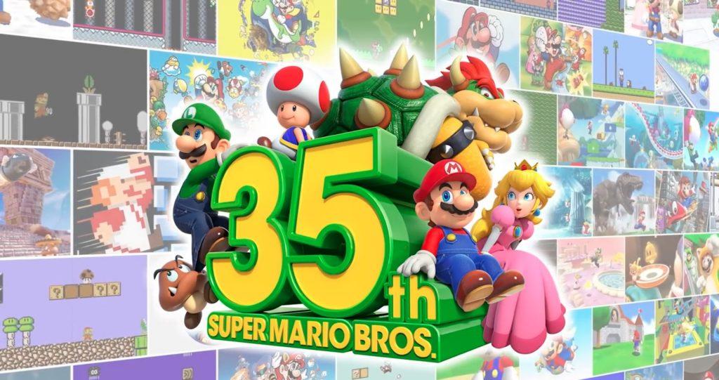 Artwork des 35 ans de Mario
