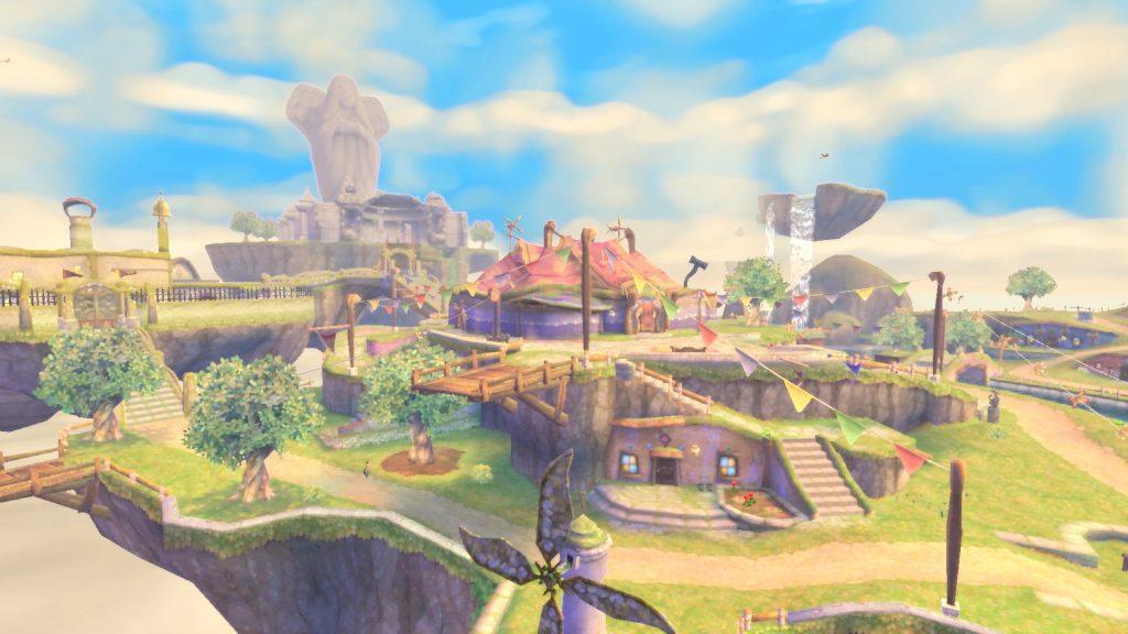 Célesbourg - Zelda Skyward Sword