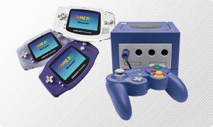 Illustration GameBoy Advance & GameCube