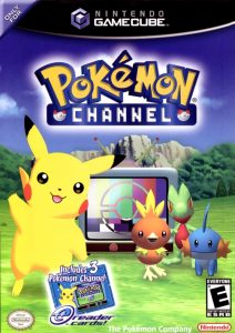 Jaquette de Pokémon Channel